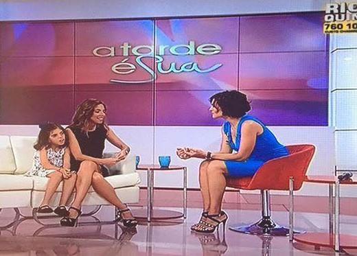TVI a tarde é sua Fátima Lopes. amaedamaria.com