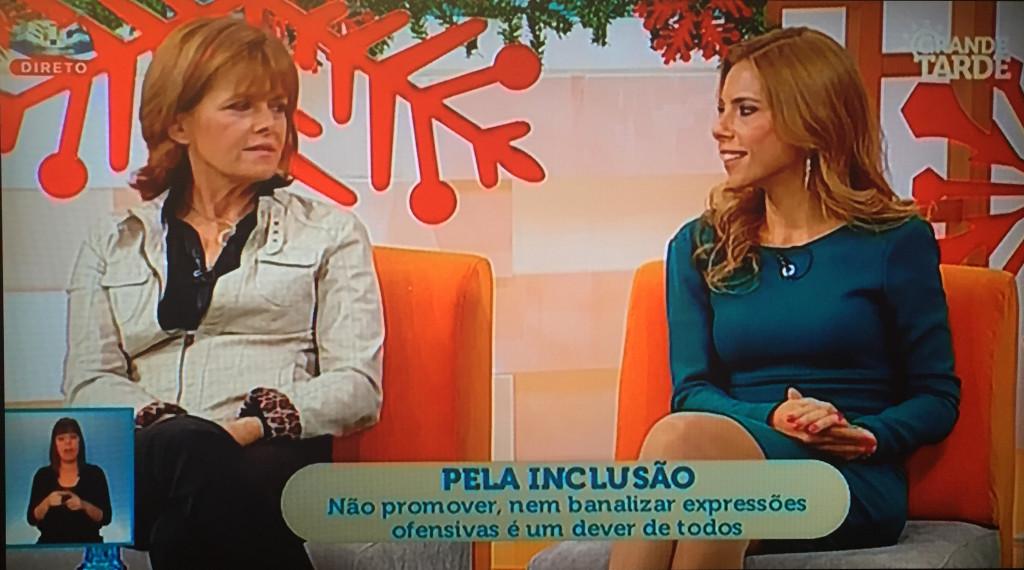 falar inclusão, Joana Santiago, Ana Rebelo
